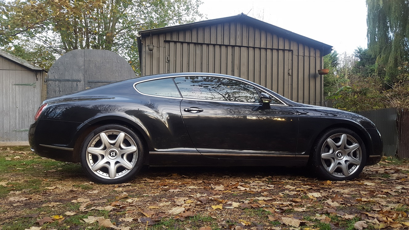 Bentley continental gt maintenance